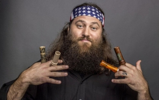Willie Robertson with his beard